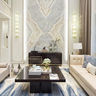 Custom Modern Living Room Design